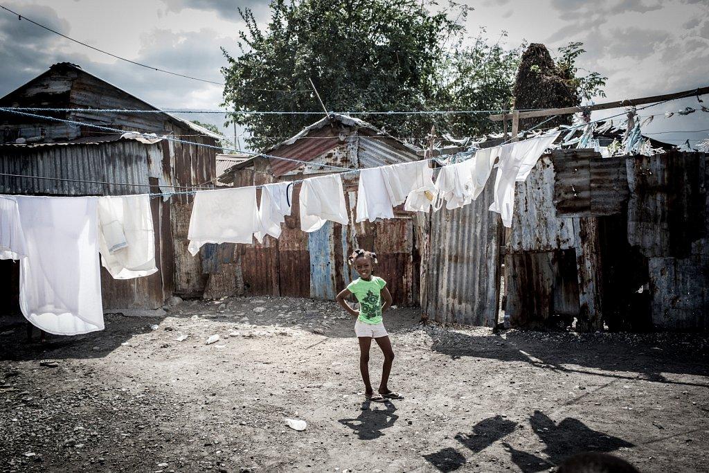 Slumtouristen in der Cité Soleil